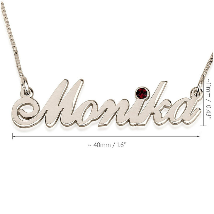 Swarovski Classic Name Necklace - Information