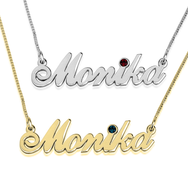 Swarovski Classic Name Necklace