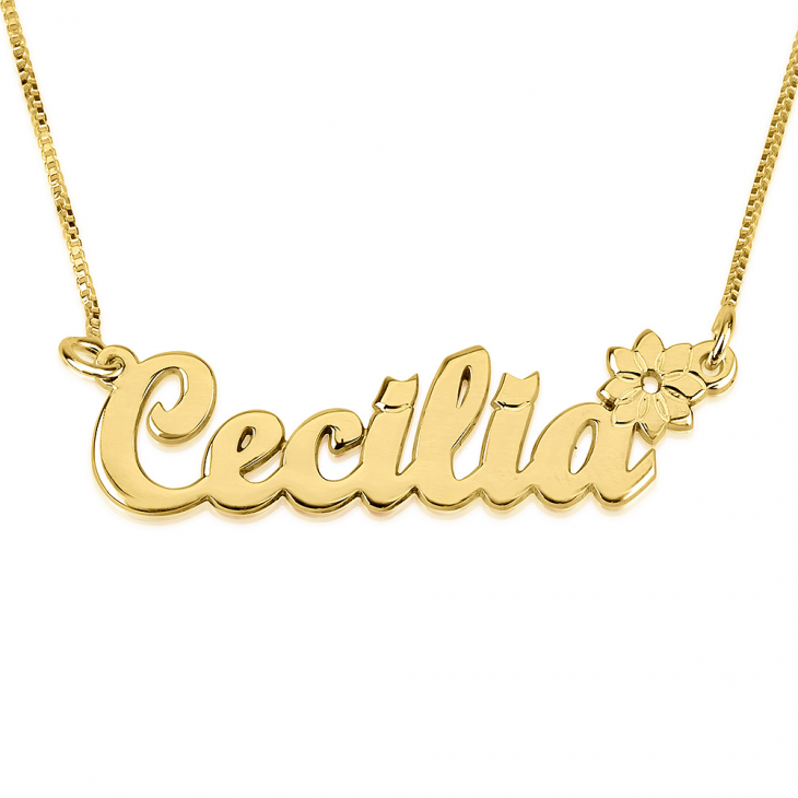 Classic Name Necklace with Symbol - Picture 4