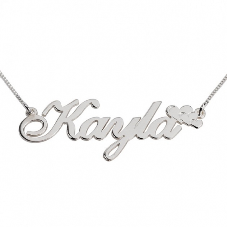 Classic Name Necklace with Symbol  - Picture 2