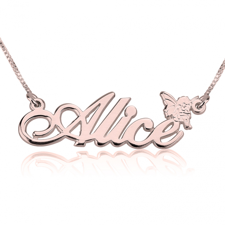 Classic Name Necklace with Symbol - Picture 5