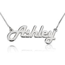Retro Name Necklace