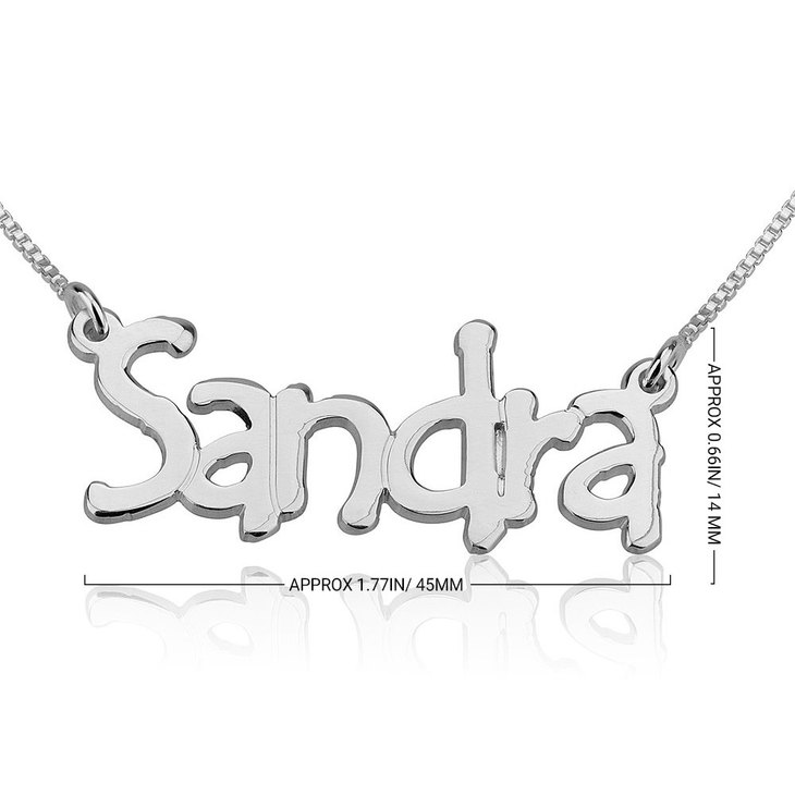 Tempo Name Necklace - Information
