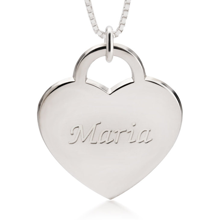 Heart Pendant with Name