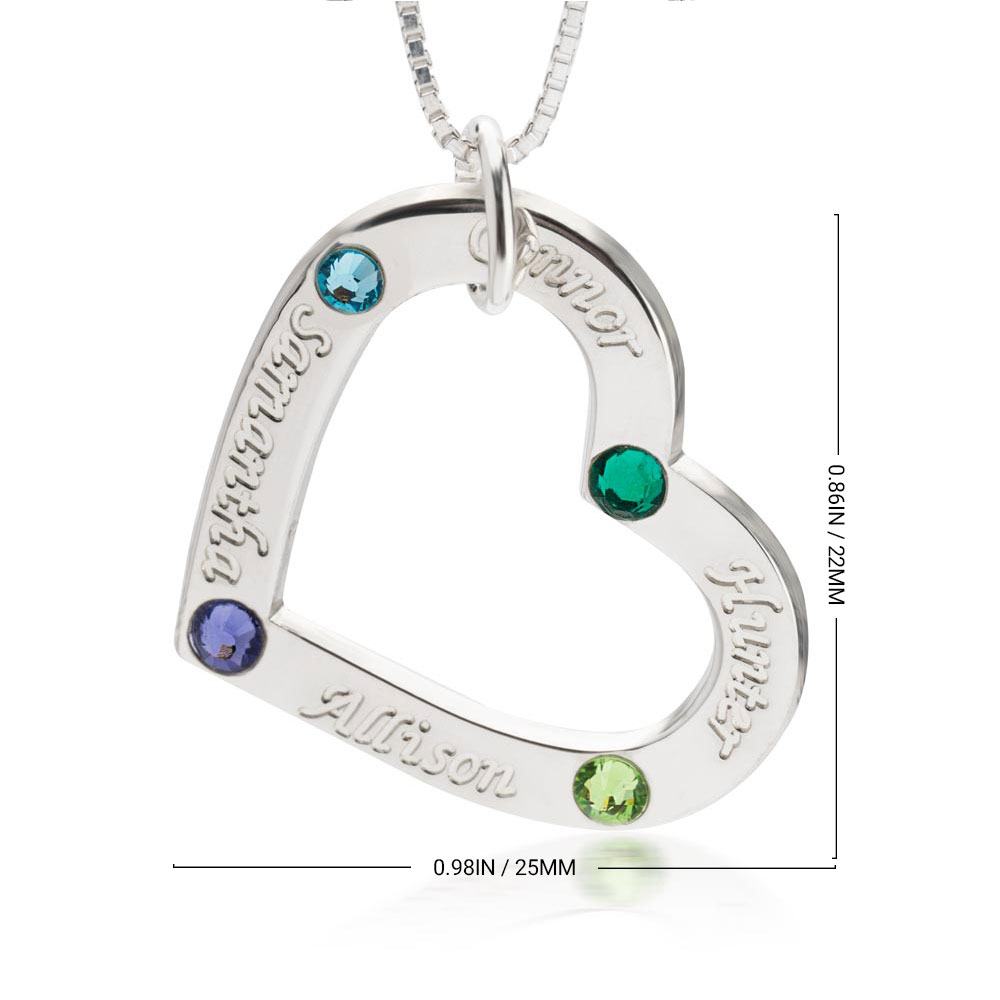Personalised Family Necklace - Information