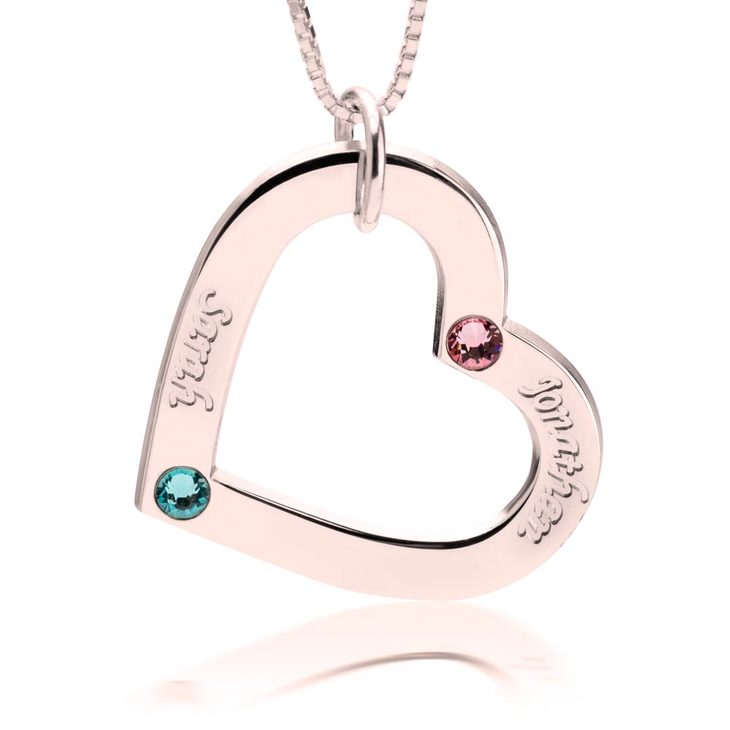 Personalised Family Necklace  - Picture 2