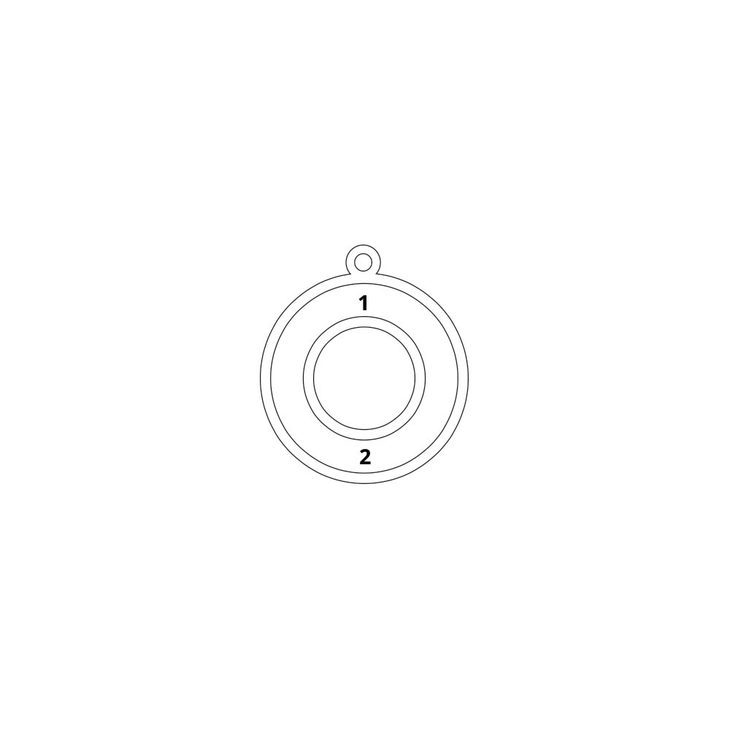 Circle Two Name Necklace - Information