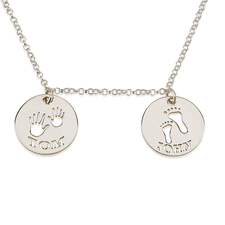 Mother's Necklace with Two Names