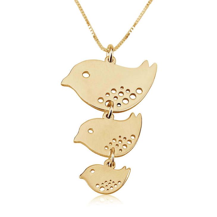 Mother Bird Necklace