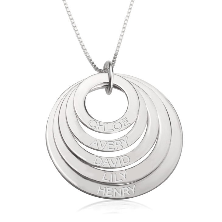 Engraved Mother Necklace  - Picture 4