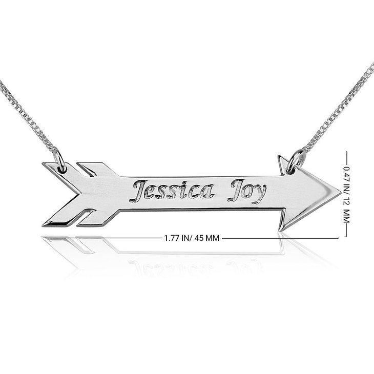 Feather Arrow Necklace - Information