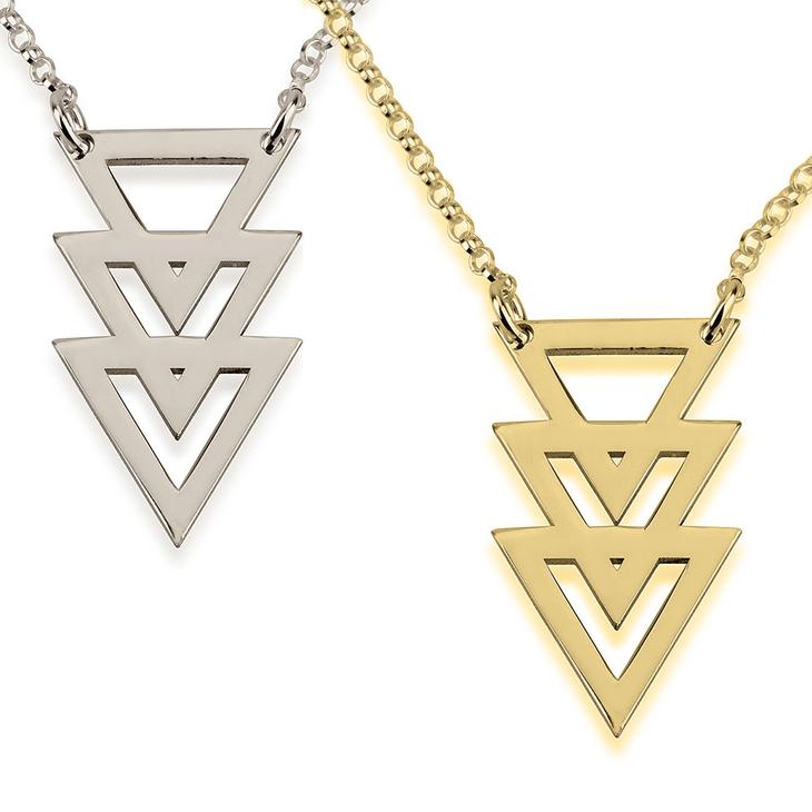Collier Trois Triangles