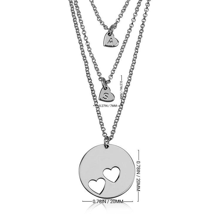Mother Daughter Name Necklace Set - Information