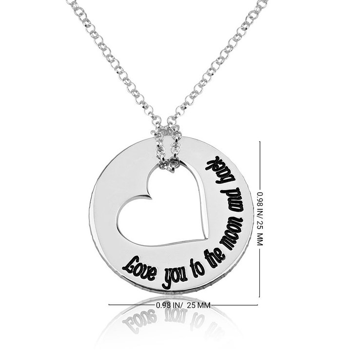 Love You To The Moon And Back Necklace - Information