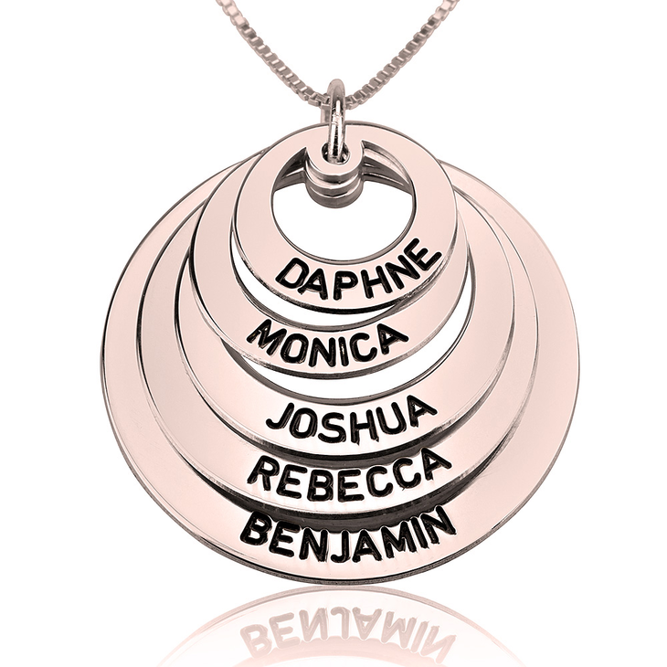 Mothers Circle Necklace  - Picture 4