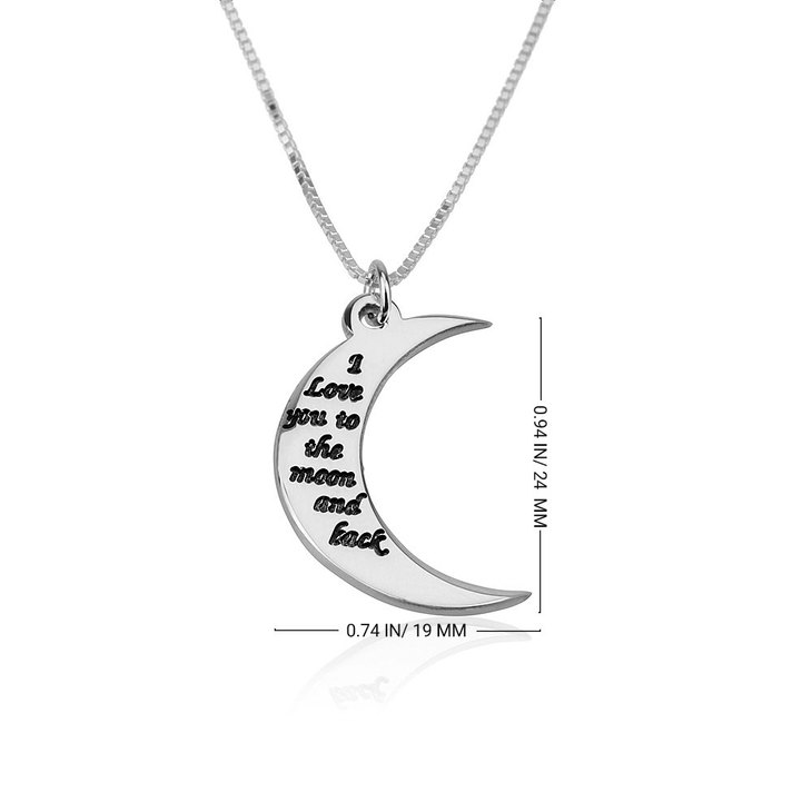 To The Moon And Back Necklace - Information