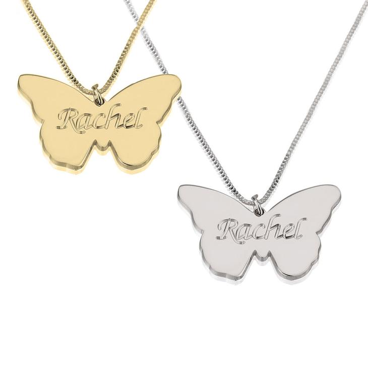 Collier Papillon Personnalisé