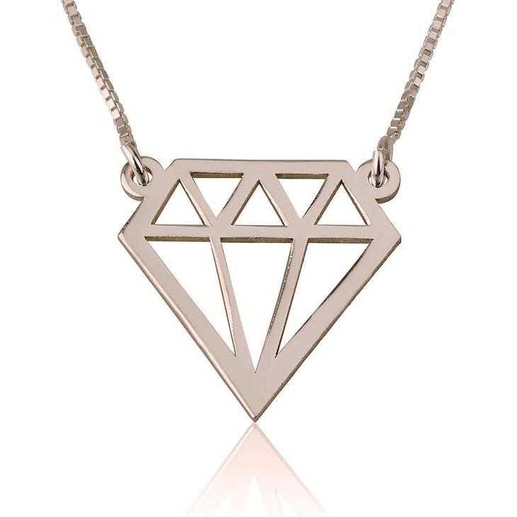 Diamond Shaped Necklace