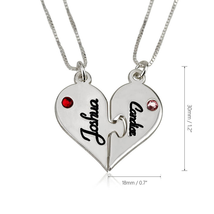 Two Heart Necklace Splits - Information
