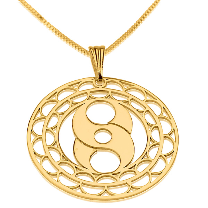 Crop Circle Necklace - Picture 6