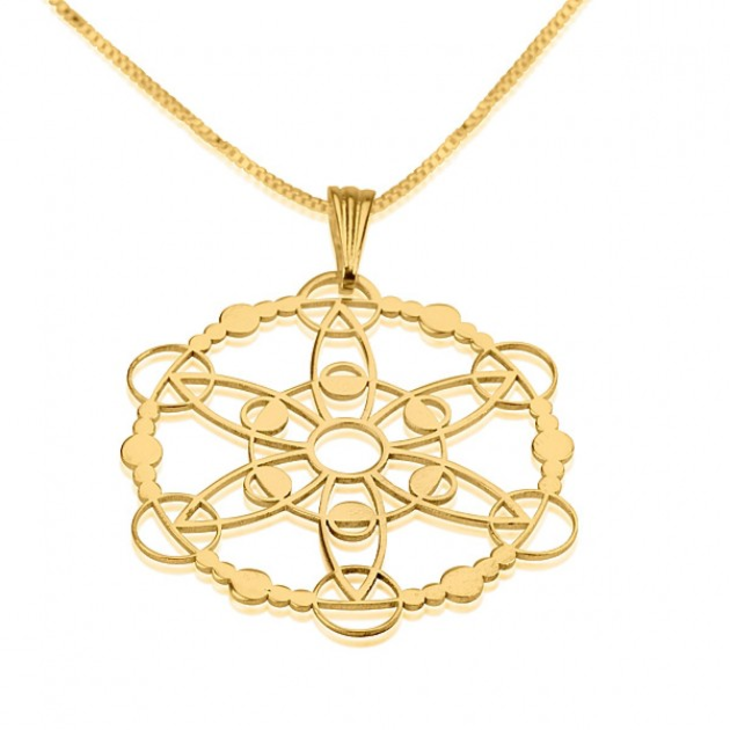 Crop Circle Necklace  - Picture 7