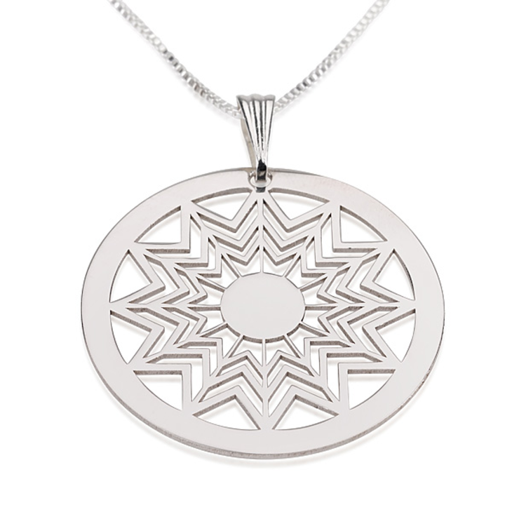 Crop Circle Necklace - Picture 3