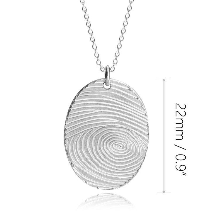Fingerprint Necklace - Information
