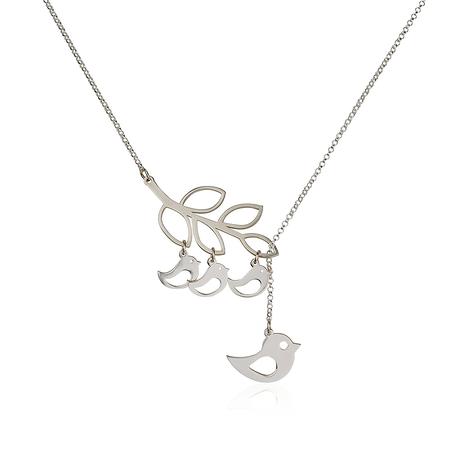 Bird Family Necklace