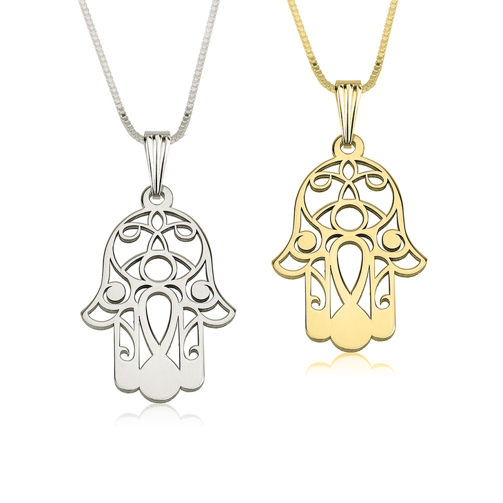 necklace necklaces soul hand products charms hamsa