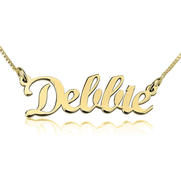 Contemporary Name Necklace