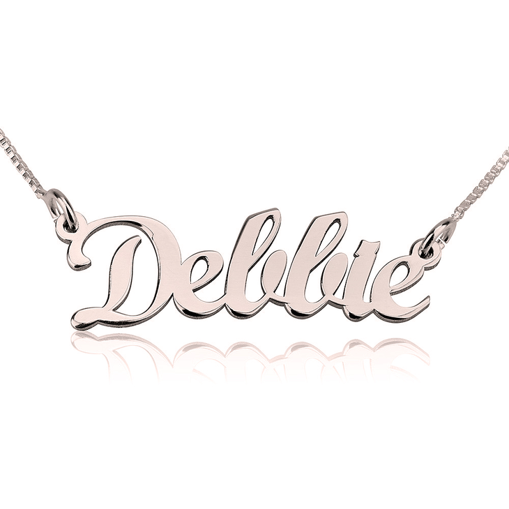 Contemporary Name Necklace