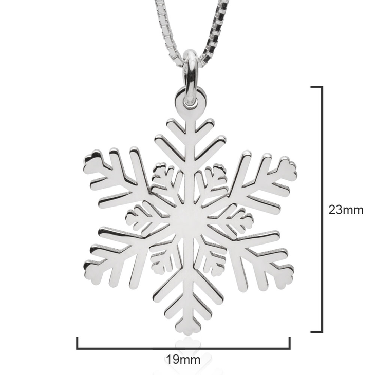 Snowflake Necklace  - Picture 2