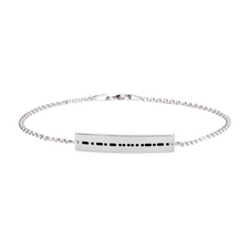 Bracelet Code Morse