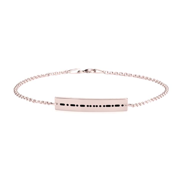 Morse Code Bracelet