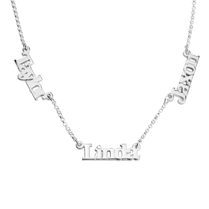 Multiple Name Necklace  - Picture 2