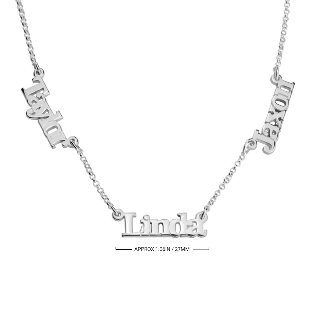 Multiple Name Necklace - Information