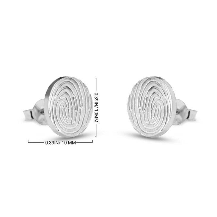 Fingerprint Earrings - Information