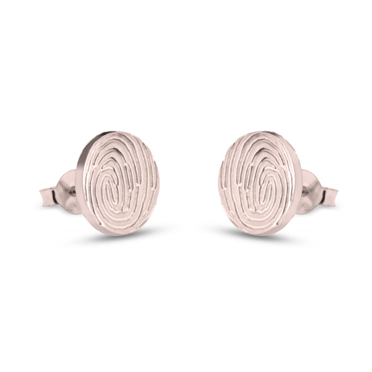 Fingerprint Earrings