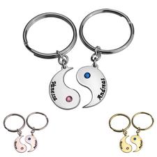 Personalized Yin Yang Keychain