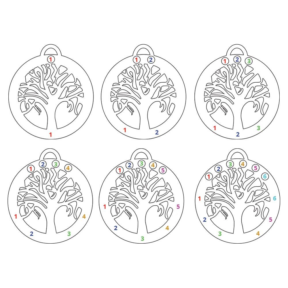 Birthstone Tree Necklace - Information