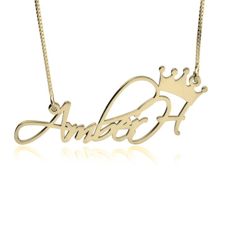 Princess Name Necklace