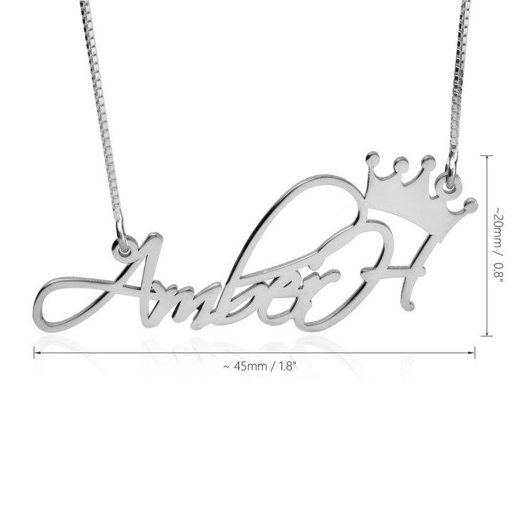 Princess Name Necklace - Information