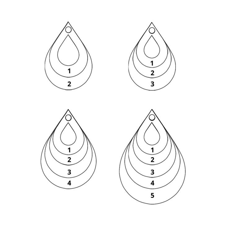 Teardrop Mother Necklace - Information