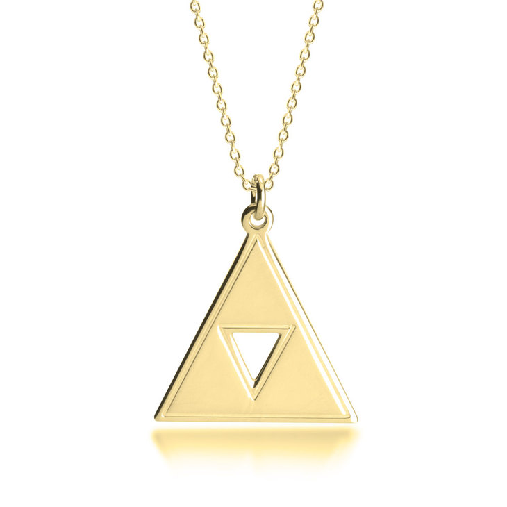 Triforce Necklace