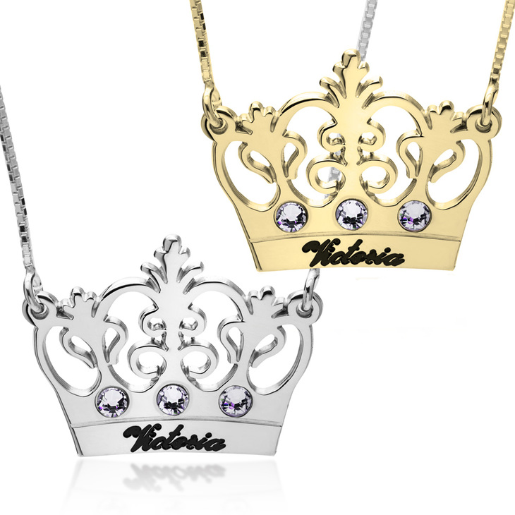 Princess Crown Necklace
