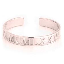 Roman Numeral Bracelet Personalised