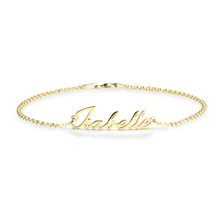 Dainty Name Bracelet