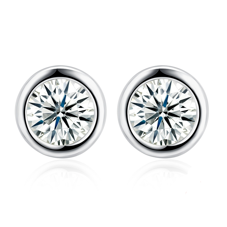 Cubic Zirconia Studs  - Picture 2