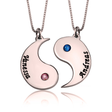 Yin and Yang Couple necklace