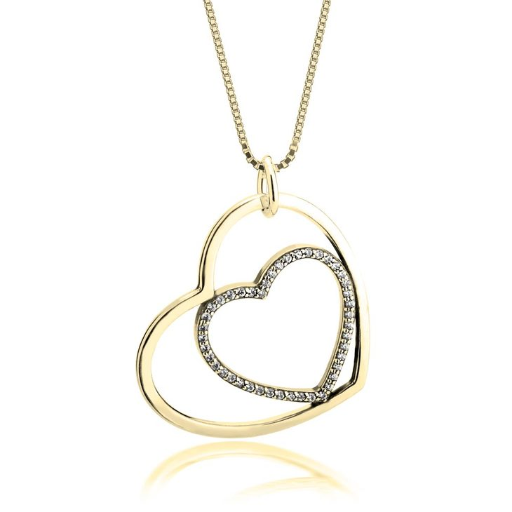 Heart In Heart Necklace